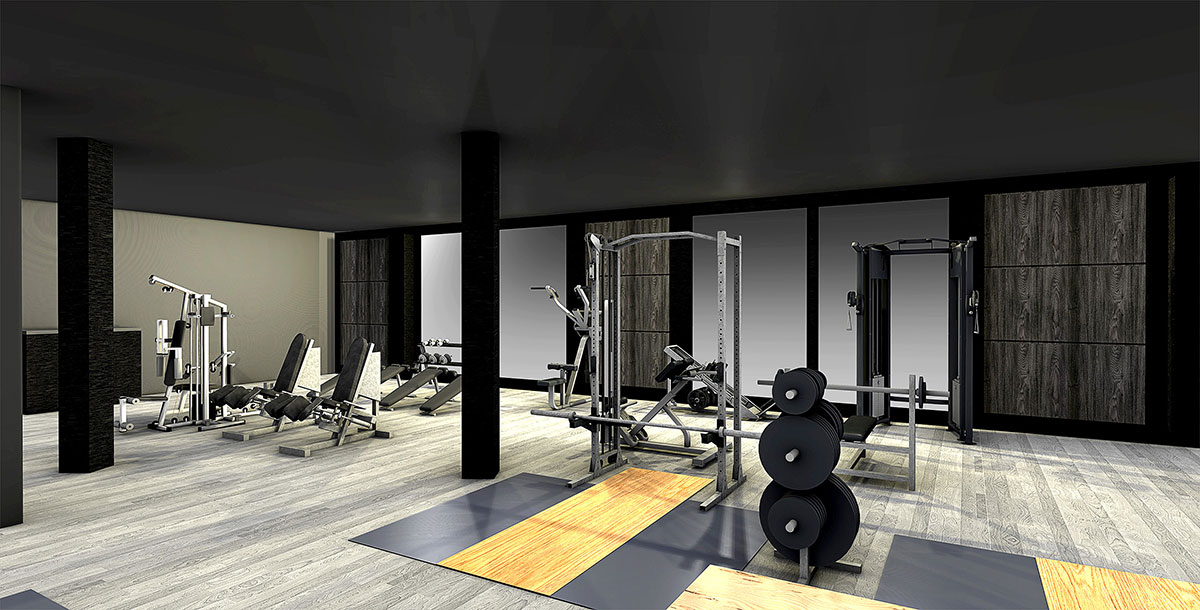 Fitness House Interior View